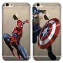 Capa Oficial Marvel Homem Aranha Spider Man Iphone 6s 6 Plus