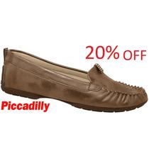 20% Off Mocassim Piccadilly Sapato 109006 - Bronze