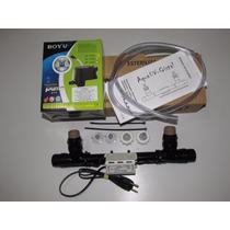 Filtro Uv-c 8w + Bomba De 300l/h Clean Jump Aquários E Lagos