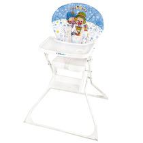 Cadeira De Refeição Luxo Patati Patata Azul Hercules