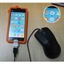 Cabo Otg Adaptador Pendrive Usb Leitor Micro Celular Top
