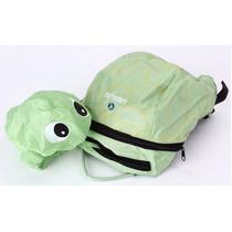 Mochila 3d Tartaruga Disney Pixar Escolar Infantil Pequena