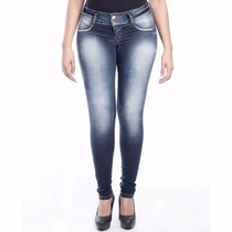 Calça Jeans Sawary Legging Modela E Levanta Bumbum Bojos Rem