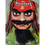 Kit Disfarce Jack Sparrow Pirata Caribe Bigoce Sobrancelha