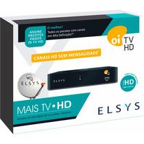 Receptor Oi Tv Hd Livre Elsys Etrs35 Com Habilitação Grátis