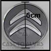 Calota Tampa Centro Roda Citroen C3 C4 Picasso Grafite =1 Pç