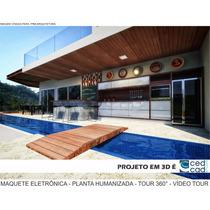 Maquete Eletrônica,perspectiva Ilustrativa,fachada 3d