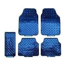 Tapetes Azul Metalizados Para Carros