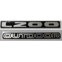 Kit Adesivo L200 Outdoor Resinado