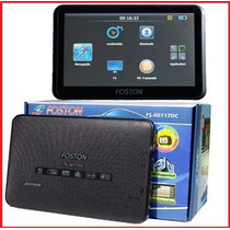 Gps Foston Fs-3d710dt ,tv Digital,7 Aviso Radares 4gb, 710dt
