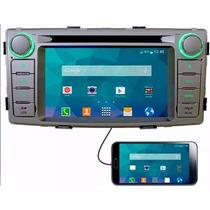 Kit Central Multimidia Tv Gps S500 Hilux 12 13 14 15 Bt