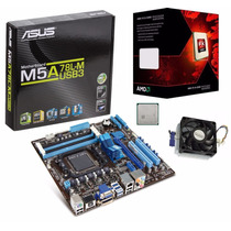 Kit Asus M5a78l-m/us3 Hdmi + Fx 4300 3.80ghz 4 Core Am3+