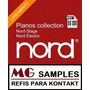 Samples Kontakt Pianos Collection Nord Stage + Nord Electro