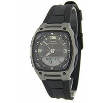 Relógio Casio Masculino Agenda Aw-81-1a1vdf Bat 10 Anos 50m