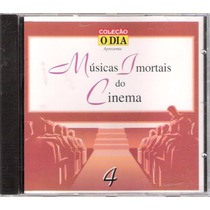 Cd Músicas Imortais Do Cinema Volume 4
