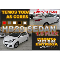 Hb20 Sedan Comfort Plus 1.6 Flex Automatico 2016 - Zero Km