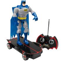 Carrinho Batman Night Skater Rádio Controle 7 Funções