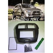 Moldura 2 Din Mitsubishi Asx Central Multimidia