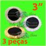 3 Boinas Lã Com Velcro 3 Polegada Agressiva + Macia + Normal
