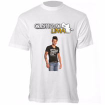 Camiseta Gusttavo Lima - Camisa Baby Look Ou Tradicional