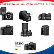 Câmera Nikon D7200 Dslr (só Corpo) 1 Ano De Garantia