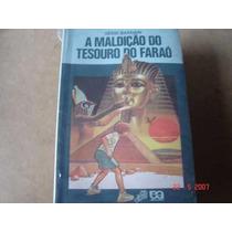 Livro A Maldição Do Tesouro Do Faraó Sérsi Bardari Editora A
