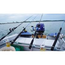 Suporte P/ Pesca Em Espera Para Barco - Capacidade 6 Varas