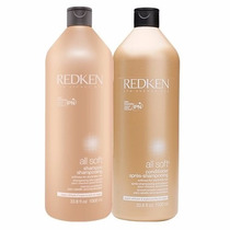 Redken All Soft Kit Duo Profissional Shampoo E Condicionador