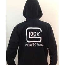 Blusa Moleton Masculino Glock Perfect Airsoft Paitball