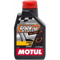 Oléo Motul De Suspensão - Fork Oil Factory Light 5w - 1l