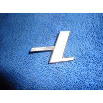 Emblema Letra L Para Tampa Traseira De Motor Vw Fusca 1300l