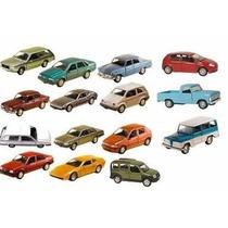 Coleção 15 Miniatura Carros Brasileiros Nacionais - 11 Cm