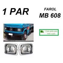Par Farol Caminhão Mb 608d