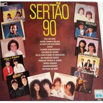 Vinil / Lp - Sertão 90 - Faz Um Ano