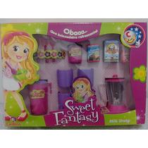Brinquedo Infantil Cozinha Sweet Fantasy Milk Shaike