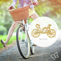 Pingente F. Ouro 18k Femino Joia Bicicleta Rommanel 541793