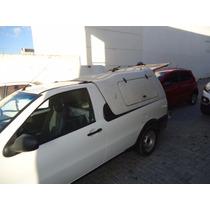 Capota De Fibra Com Compartimentos Para Fiat Strada 96 A 13