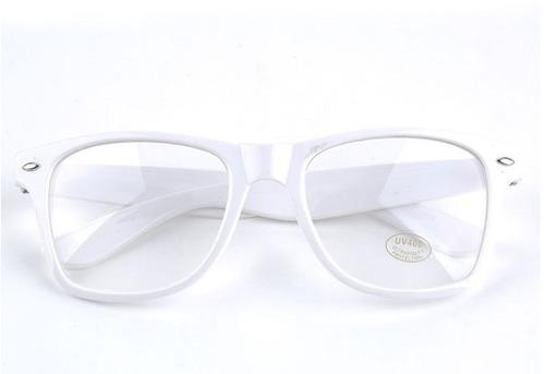 259adb5118550 Armação P  Óculos De Grau. Retangular Grande Geek Nerd Retrô. Preço  R  29  99 Veja MercadoLibre