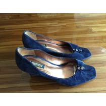 Sapato Santa Lolla Peep Toe Anabela N36