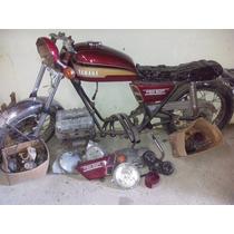 Yamaha Tx 500 - 1974. Para Restaurar