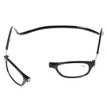 Ele Ela Unissex Armação Oculos Gr +2,5 Leitura C/ Ima Abre