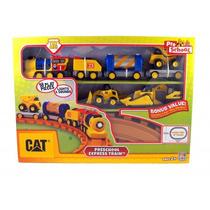 Trem Catterpillar Preschool Express Train Dtc Com Som E Luz