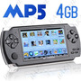 Video Game Portatil Design Psp Tela 4,3 Polegadas+3000 Jogos