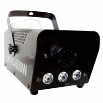 Maquina De Fumaça Com Led 600w 110v + Liquido 1l Gratis.