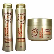 Kit 6 Shampoo 6 Condicionador 6 Máscara Karité Frete Grátis