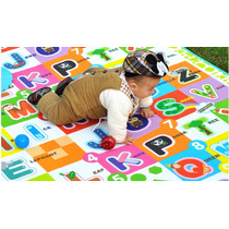 Tapete Infantil Educativo Duplaface Atividades Bebê 1,8x1,5m