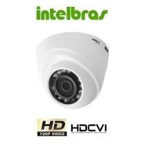 Camera Intelbras Infra Dome Hdcvi 720p Vhd 1010d 3,6mm + Nfe