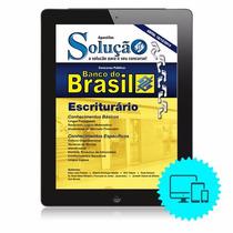 Apostila Digital Banco Do Brasil - Escriturário Promoção