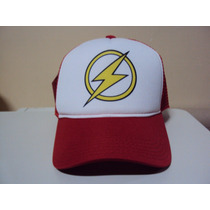 Boné The Flash Classics Trucker Snapback