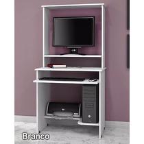 Escrivaninha Mesa Para Computador Vicenza Moveis Jaci